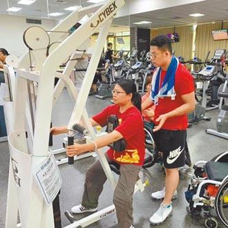 台北運動中心不友善 輪椅族難健身