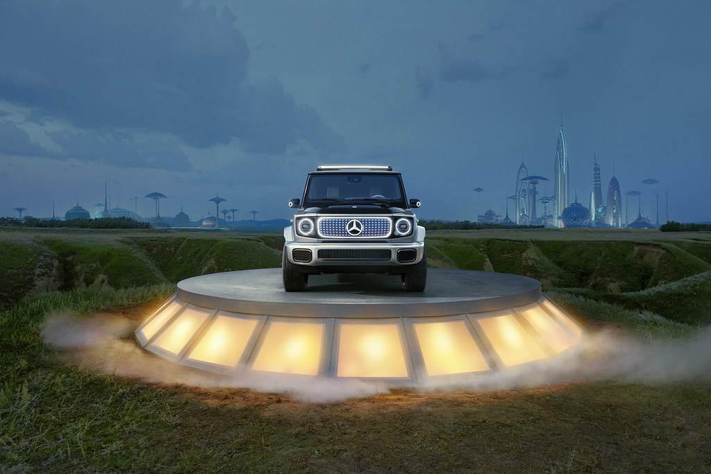 預覽未來 2025 純電 G 硬漢,Mercedes-Benz Concept EQG 亮相(圖/CarStuff)