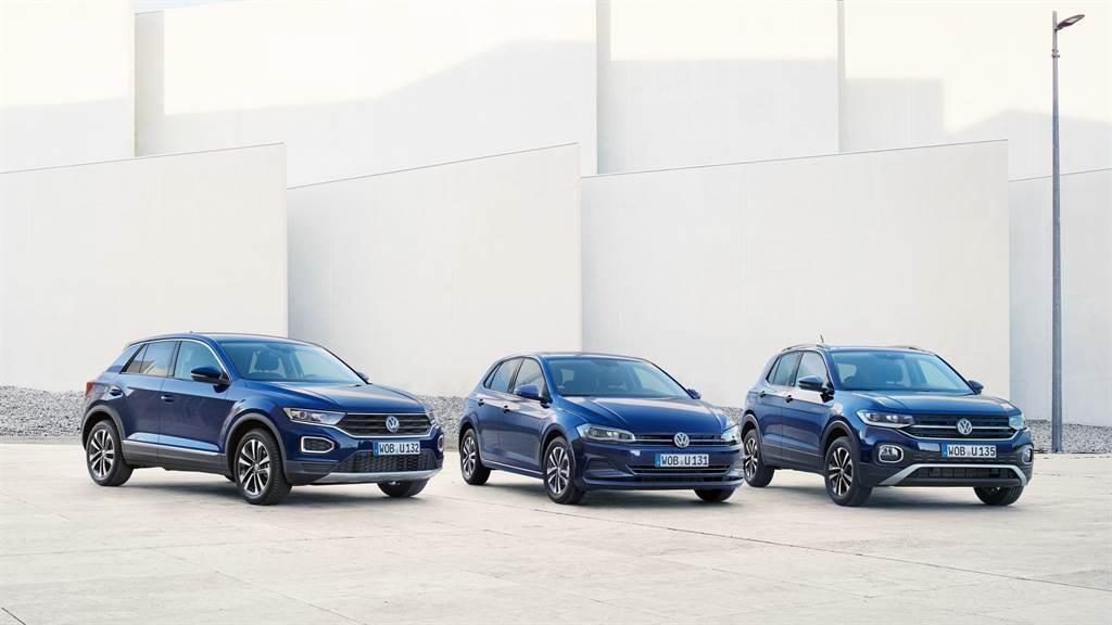 Polo、T-Cross、T-Roc提供消費者各式購車優惠選擇。(圖/業者提供)