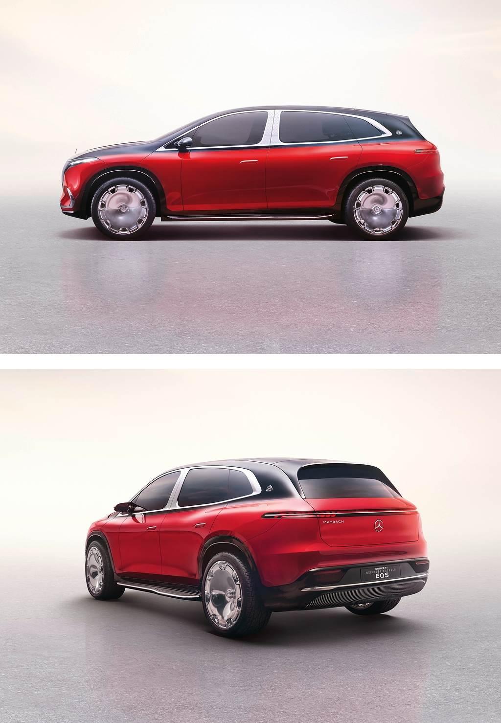 奢華與尖端純電技術結合 Mercedes-Maybach Concept EQS SUV 亮相!(圖/CarStuff)