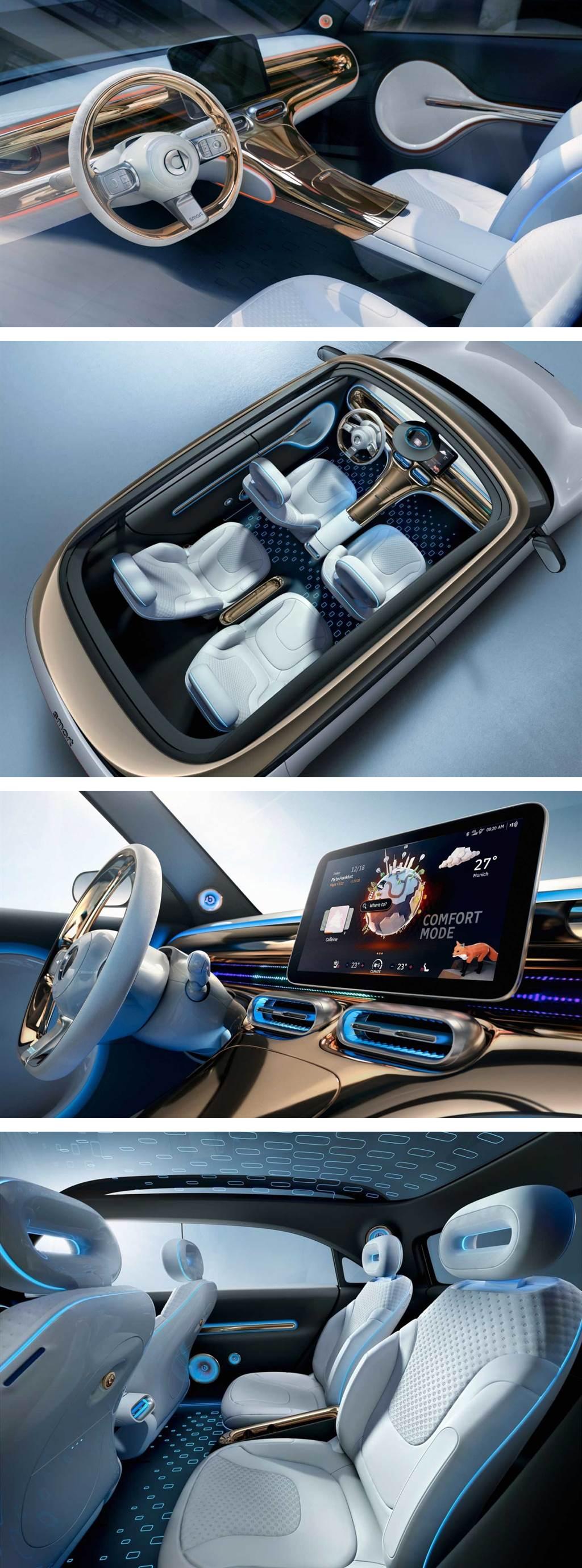 吉利與 Smart 首款合作成果、Smart Concept #1 電動小型 SUV 亮相!(圖/CarStuff)