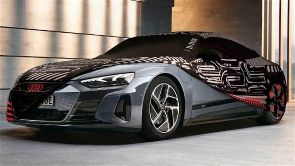 Audi 推出 e-tron GT 車系專屬迷彩車罩 一秒變回帥氣概念車(圖/DDCar)