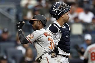 MLB》洋基滿貫轟無用 慘遭爐主金鶯逆轉