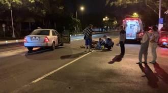 撞傷行人違反號誌 路人、駕駛均受罰