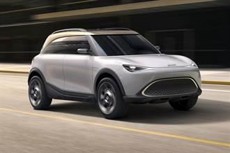 吉利與 Smart 首款合作成果 Smart Concept #1電動小型 SUV 亮相!