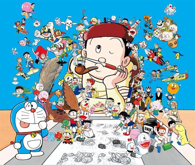 《哆啦A夢》作者大全集網版登場 收錄珍貴未公開篇章(小學館提供)