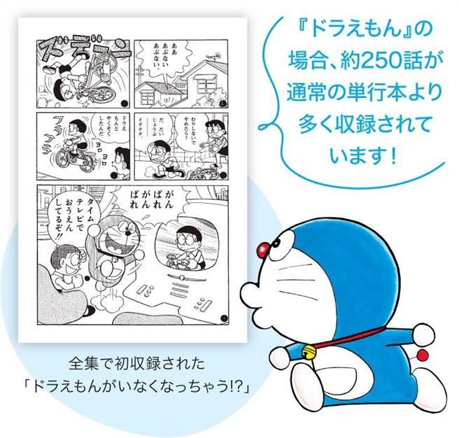 《哆啦A夢》作者大全集收錄製作早期資料。(小學館提供)