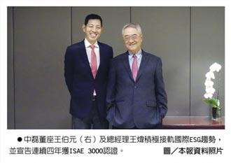 中磊CSR 連四年獲ISAE 3000認證