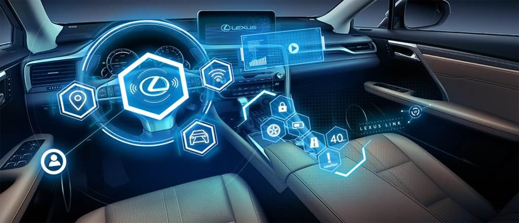 LEXUS LINK智能車載系統整合LEXUS Plus APP及車輛數據,提供給車主最方便的移動服務。(圖/業者提供)