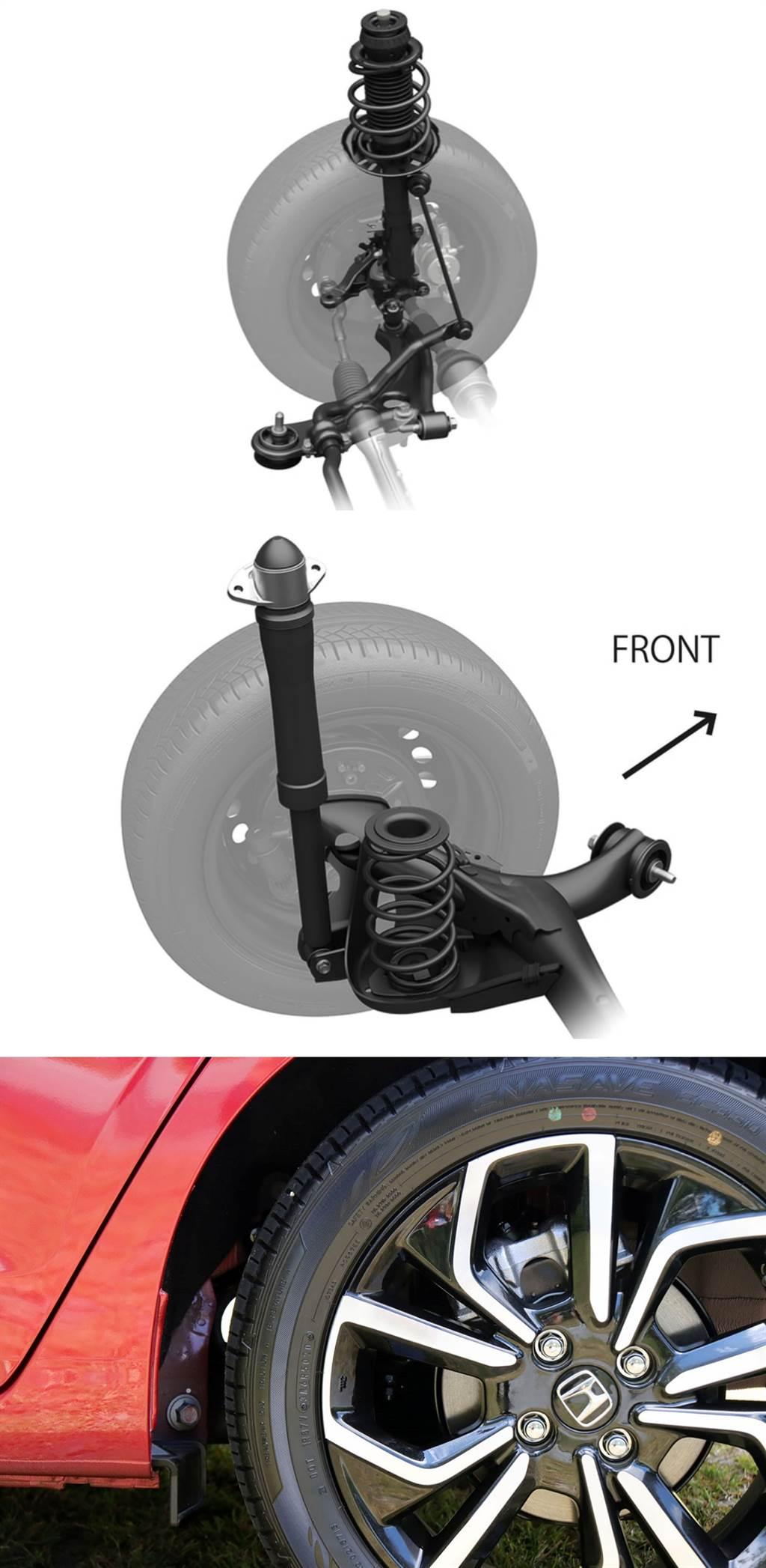 後輪碟煞的卡鉗設計相當有巧思,位於 11 點鐘方向的它在煞車的時候可以有效減緩點頭的狀況,當然換上四輪碟煞+EBD電子手煞車之後,其制動能力也比上一代來得優異許多。(圖/CarStuff)