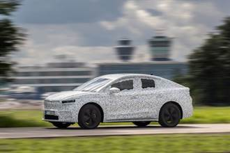 Skoda Enyaq Coupe iV官方偽裝照露出 預計2022年初推出