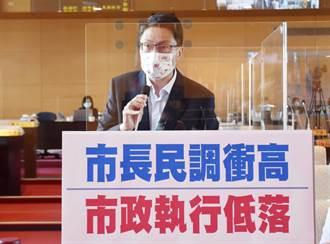 台中市長盧秀燕近期民調高 綠營市議員卻揭市政執行率低落