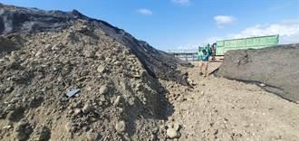 南投鳥嘴潭人工湖工程挖出致癌物石綿 環保局要求依法處理