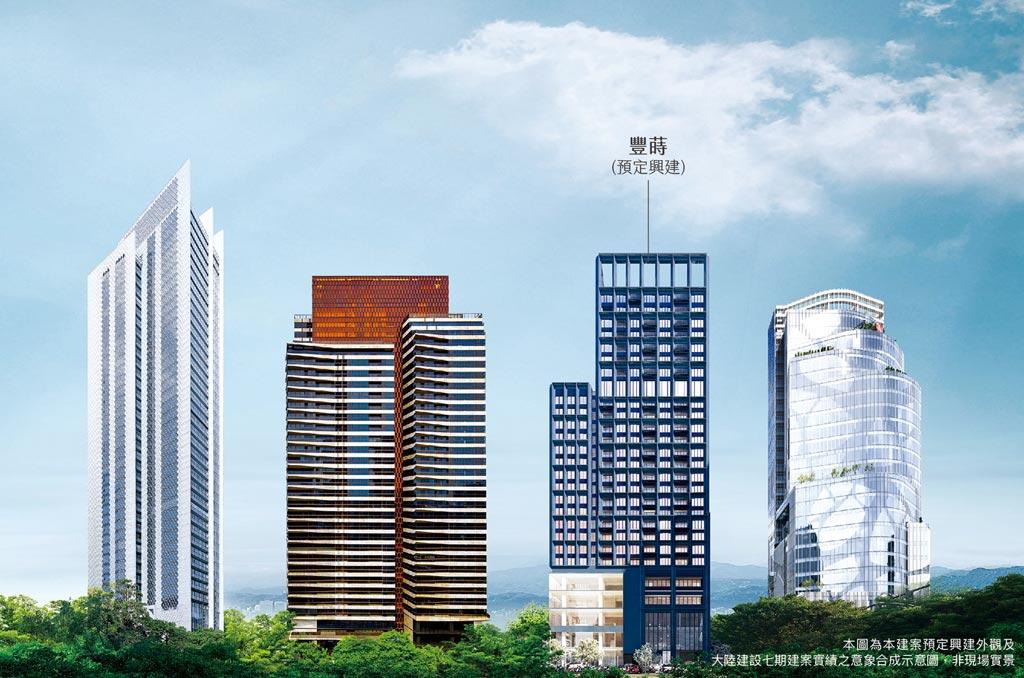 由「愛馬仕」御用建築首席RDAI全案操刀 大陸建設豐蒔 領台中七期風采