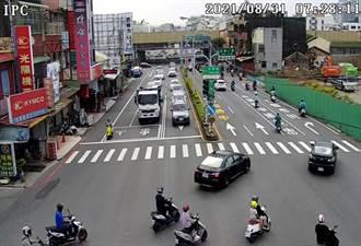 台南市6大易壅塞路廊改善滿月 交通局自評已見成效