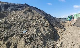 鳥嘴潭工程挖出致癌石綿 中水局已妥善處理 南投環保局稱未依程序恐違法