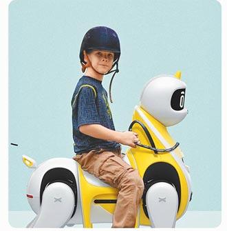 全球機器人大戰開打! 小鵬打造可騎乘智慧機器馬