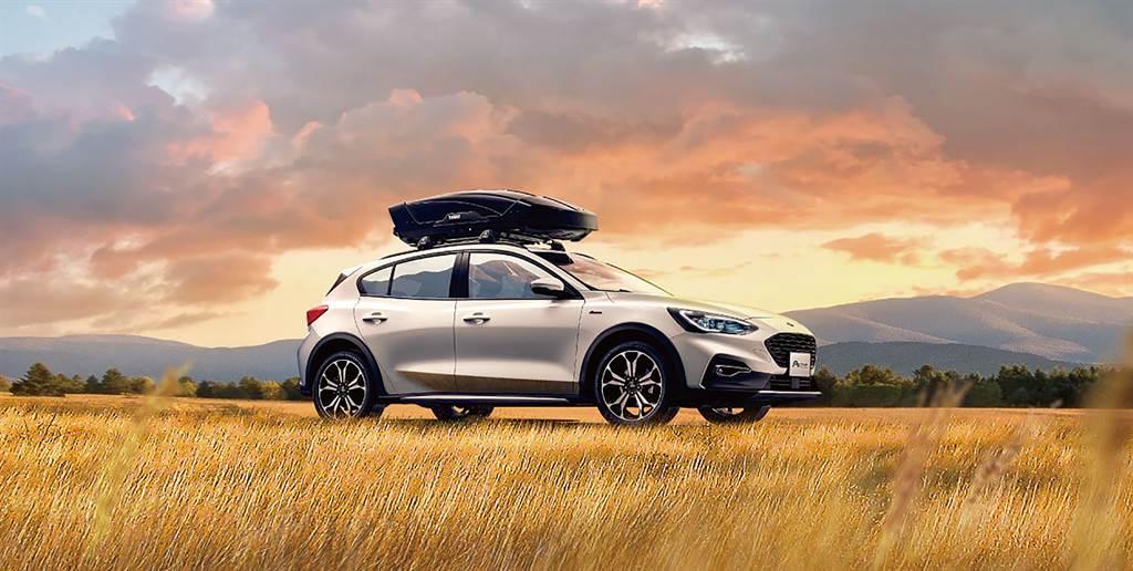 Ford Focus 2022年式Active EcoBoost®182任性版亮麗的外型、適中的車身尺寸與良好駕駛視野深受女性車主青睞。