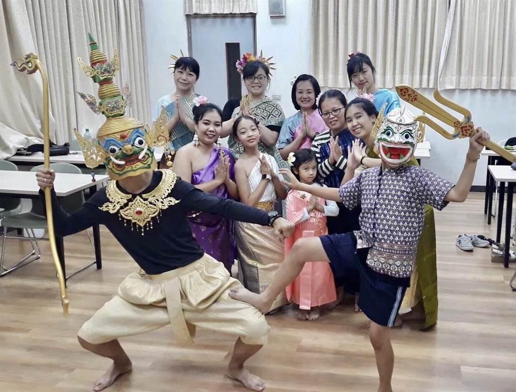 暨南大學推動雙語教學,也培育東南亞教育人才。(暨南大學提供/廖志晃南投傳真)