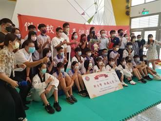 跆拳道》羅嘉翎返母校三民高中 回饋10萬獎勵金