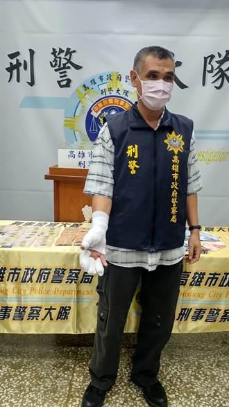 攜百包毒品交易竟衝撞警車 警破窗揪出藥頭
