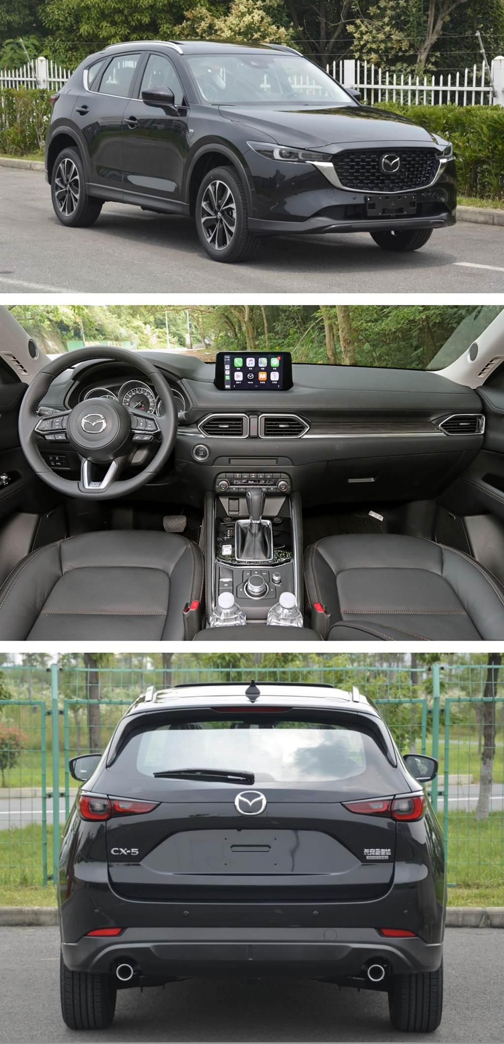 Mazda CX-5 中期改款在陸曝光 或與海外規格一致(圖/CarStuff)