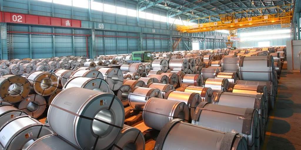中鋼Q4季盤中,鋼板、汽車料、熱浸鍍鋅鋼捲每噸皆漲1500元,僅棒線漲幅在1000元內。(圖/中時報系資料照片)