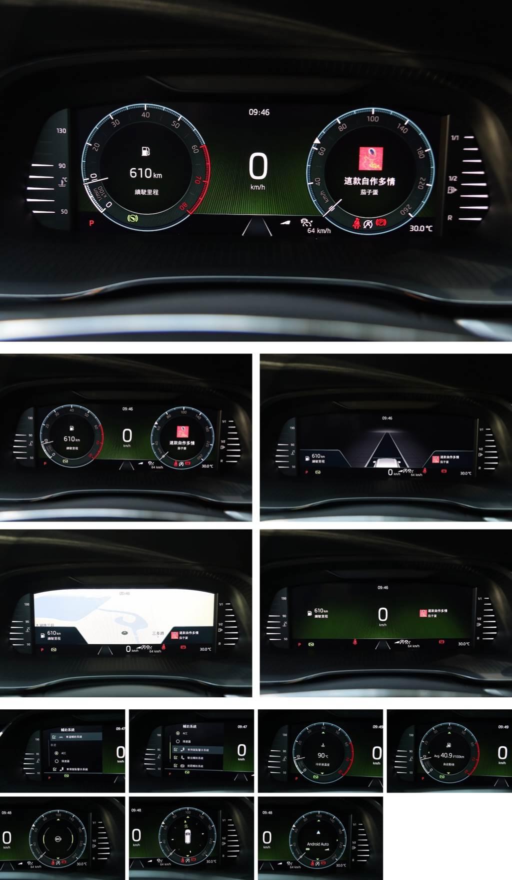 新精緻家旅 Škoda Octavia Combi 2.0TSI 4X4新車試駕(圖/CarStuff)