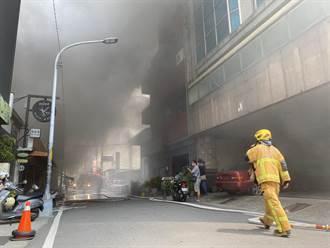 彰化太平街火鍋店起火 大火延燒3店家、市區濃煙瀰漫