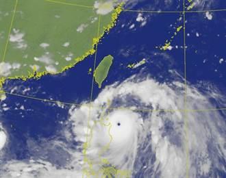 強颱璨樹陸警發布 氣象局曝影響最劇烈時間點
