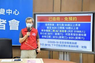 65以上長者施打AZ第2劑免預約 彰化縣提供超暖接送服務