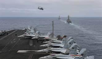 美航母首載F35C進南海 陸專家警告:戰機隱形 航母不隱形