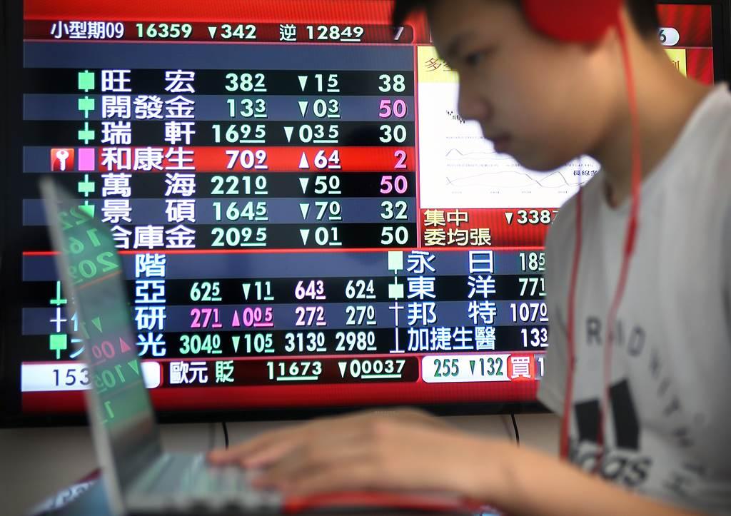 今年美股及台股頻創新高,使得金融業投資收益豐碩。(圖/中時報系資料照)