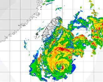 璨樹暴風圈將接觸 陸警擴大!半個台灣警戒