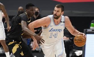 NBA》再會了 湖人用小蓋索+次輪籤換王哲林簽約權