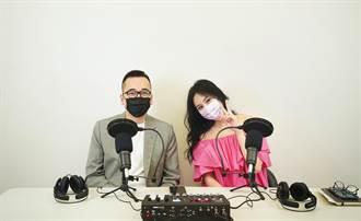 名模洪曉蕾化身吃貨開Podcast  「模範前夫」擔任暖場男神