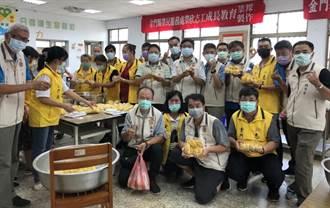 金門榮民大家庭送愛 手工「菜粿」分享好口味