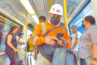 美不戴口罩乘客 罰款將提高一倍