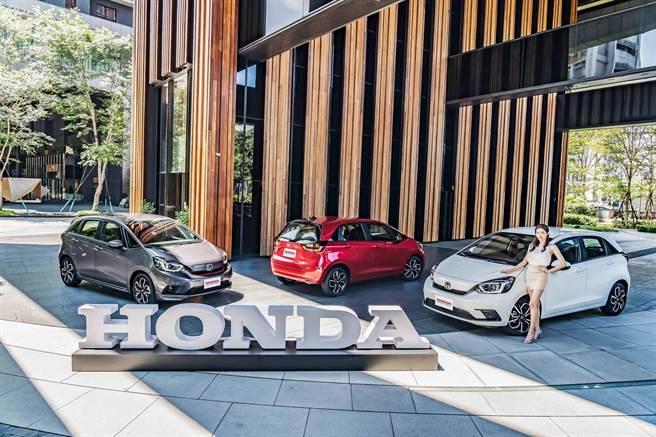 Honda Taiwan公布ALL NEW FIT售價 汰舊換新69.9萬元起。(圖/陳大任傳真)