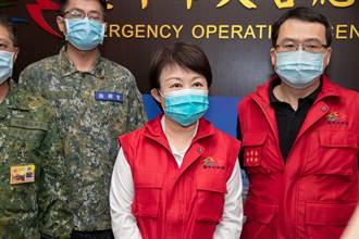 因應璨樹颱風上緊發條 盧秀燕坐鎮災防中心