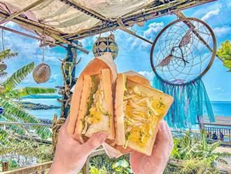 當地才有的各式飛魚美食搭配無敵海景 一定要來蘭嶼!