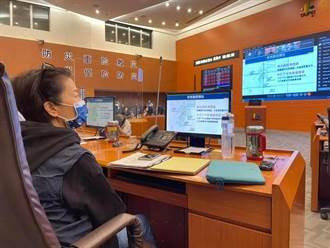 璨樹侵台 北部風雨將爆發 黃珊珊狂PO文提醒防颱:在家最安全