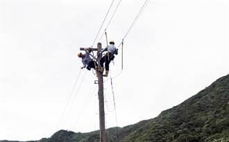 璨樹直撲蘭嶼吹起17級陣風 700多戶停電
