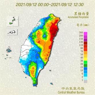 不斷更新》北台灣起風了 璨樹發威17縣豪大雨 一路下到半夜