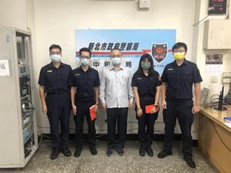 挑戰公權力中和警回擊4槍 署長陳家欽親赴慰勉