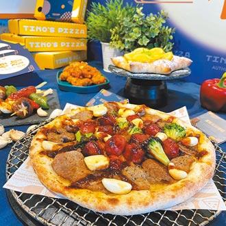 堤諾賞月烤肉比薩 嗆辣上市