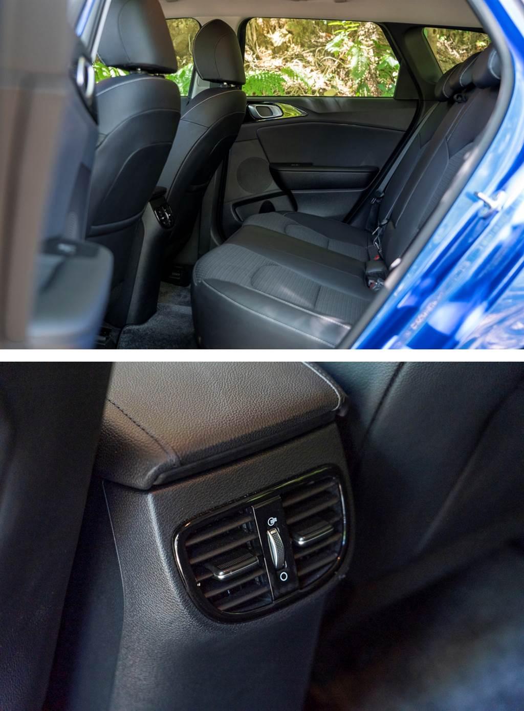 本車後座設有出風口設定,對於後方空間較為寬敞的旅行車而言,對於冷房效果也有一定幫助。(圖/CarStuff)