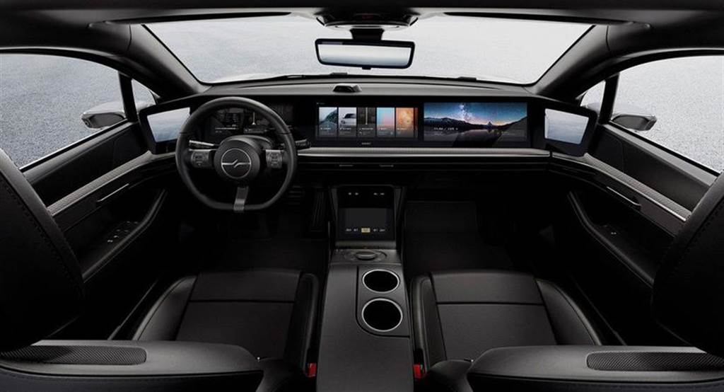 Sony Vision S 電動車又來了!CES 2022 大會揭露更多細節,量不量產仍是個謎(圖/DDCar)