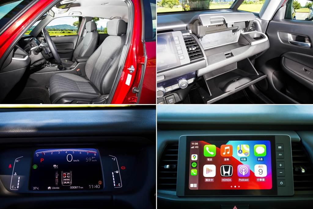 座椅設計時特別針對世界上通勤時間進行調查,在空間有限的情況下讓大多數人在日常通勤時都能感到舒適;另外因應進入數位化時代,儀錶板改為數位式,搭配8寸觸控式音響,並支援Apple CarPlay/Android Auto。(圖/陳彥文攝)