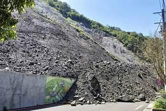 新竹尖石鄉土石坍方驚人畫面曝!沿溪5民宅急撤離